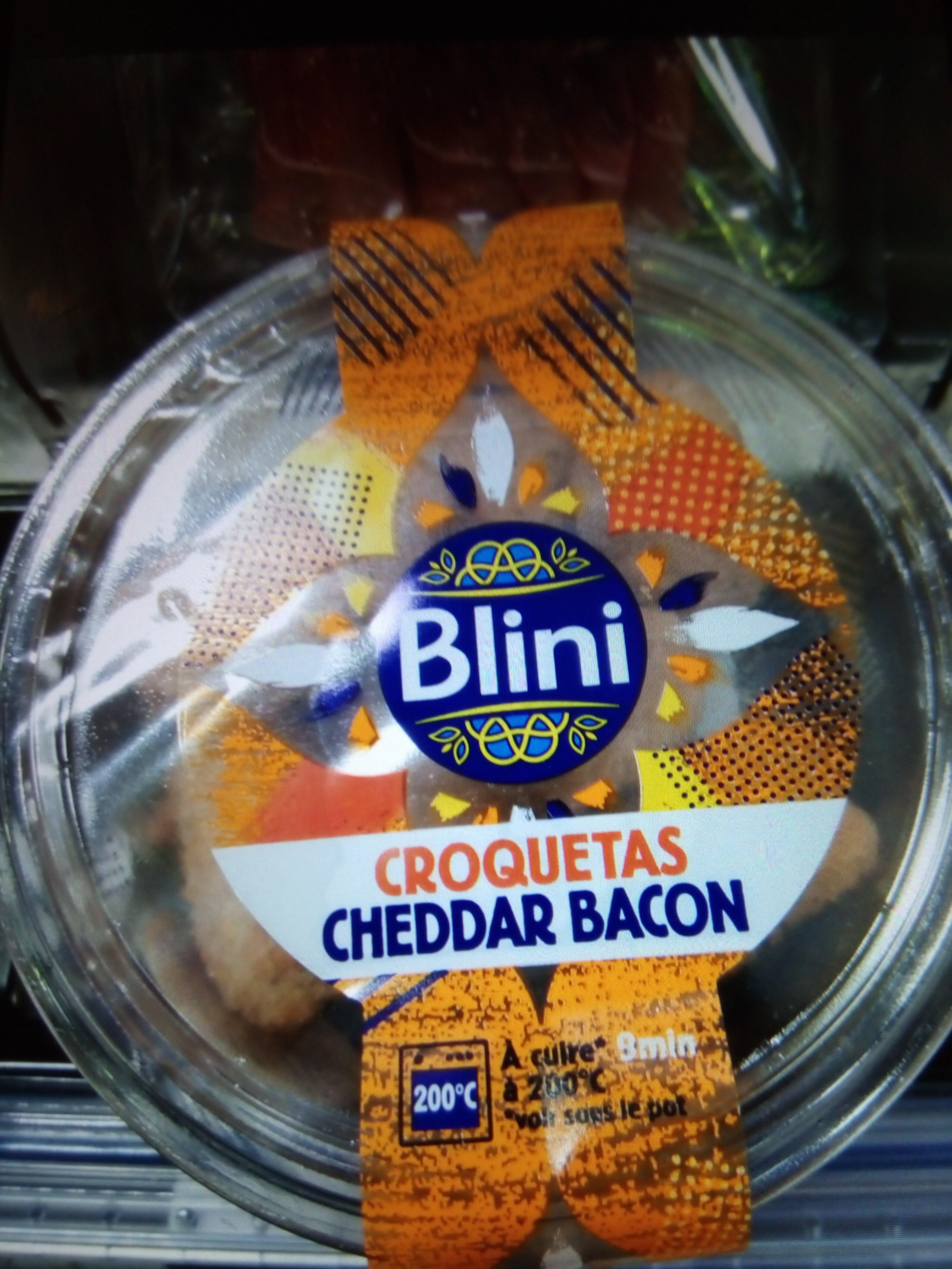 Croquetas cheddar bacon - Produit - fr