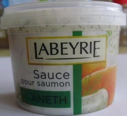 Sauce for salmon - Product