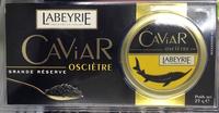 Caviar Osciètre Grande Réserve - Product - fr