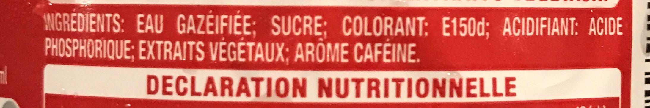 Original taste - Ingrédients - fr