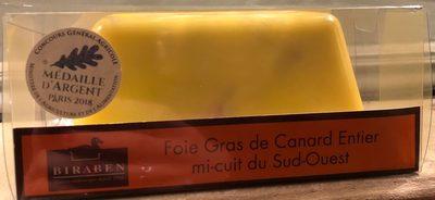 Foie Gras de Canard Entier mi-cuit du Sud-Ouest - Product