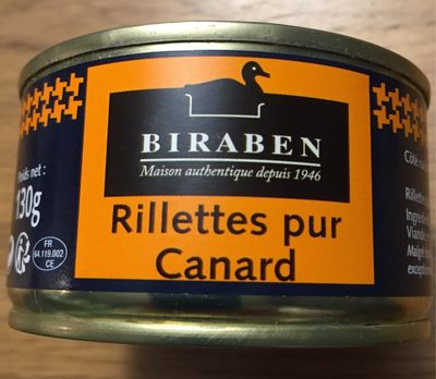 Rillettes pur canard - Product