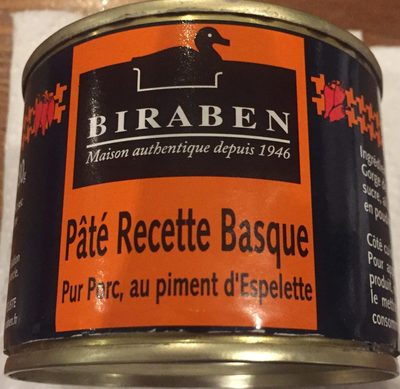 Pâté Recette Basque - Produit - fr