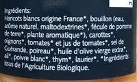Haricots BIO cuisinés - Ingrediënten