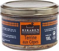 Terrine aux cepes - Produit - fr