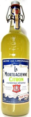 La Mortuacienne Citron - Produit - fr