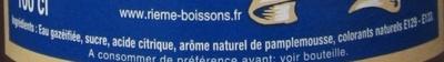 La Mortuacienne Pamplemousse - Ingrédients - fr