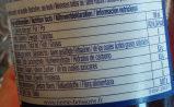 La Mortuaciene Grenade - Informations nutritionnelles - fr