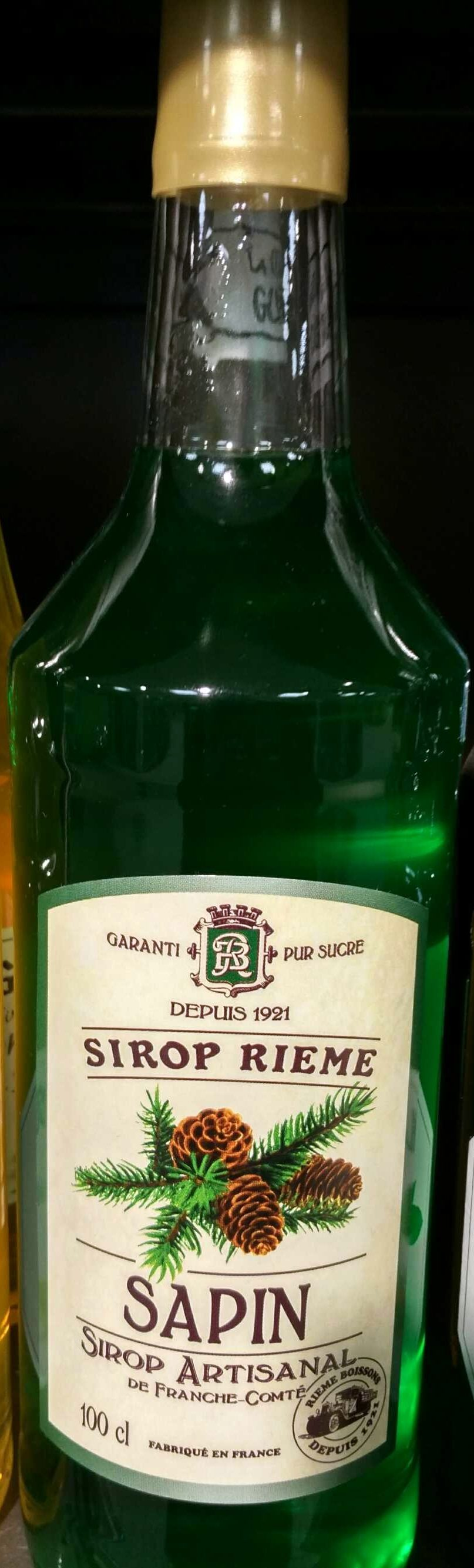 Sirop de sapin, garanti pur sucre, la bouteille de - 製品 - fr