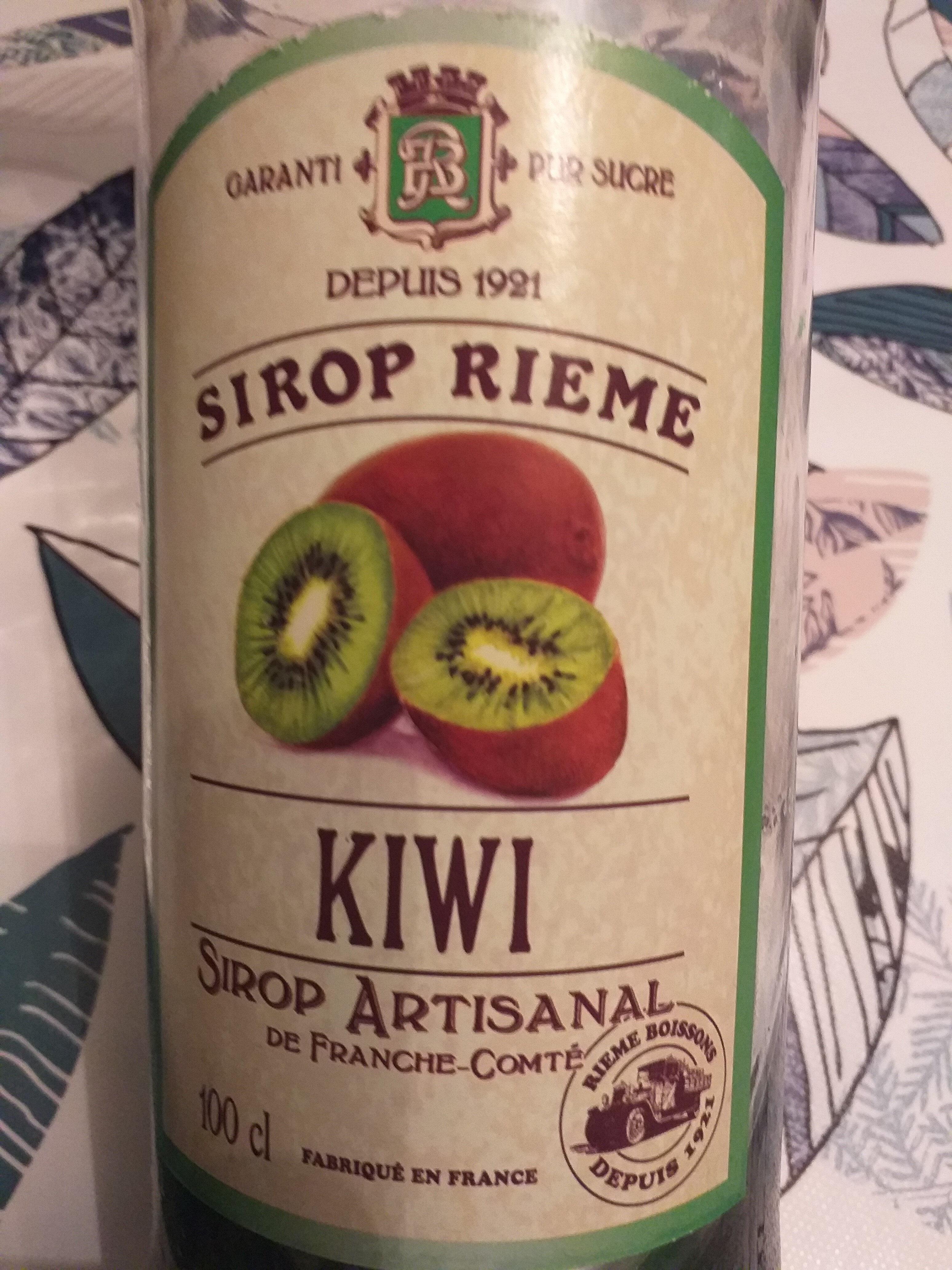 Sirop de kiwi, garanti pour sucre - Produit