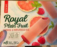 Royal plein fruits framboise et pamplemousse - Product
