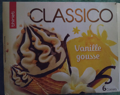 Cornet Classico Vanille - Produit - fr