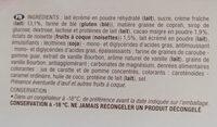 Cornet Classico Vanille - Ingrédients - fr