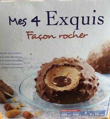 Mes 4 Exquis Façon Rocher - Produit - fr
