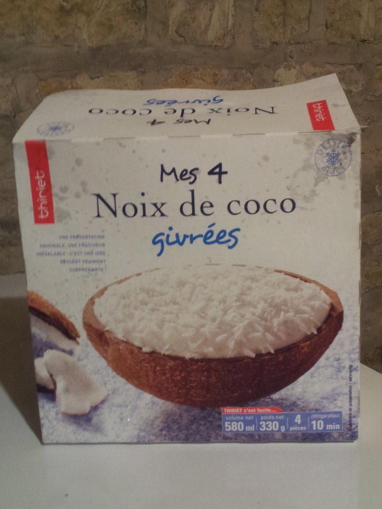 Mes 4 Noix de coco givrées - Product