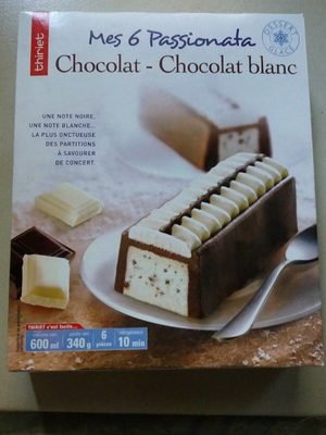 Passionata chocolat chocolat blanc - Produit - fr