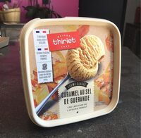 Crème glacée au caramel au sel de guérande - Produit - fr