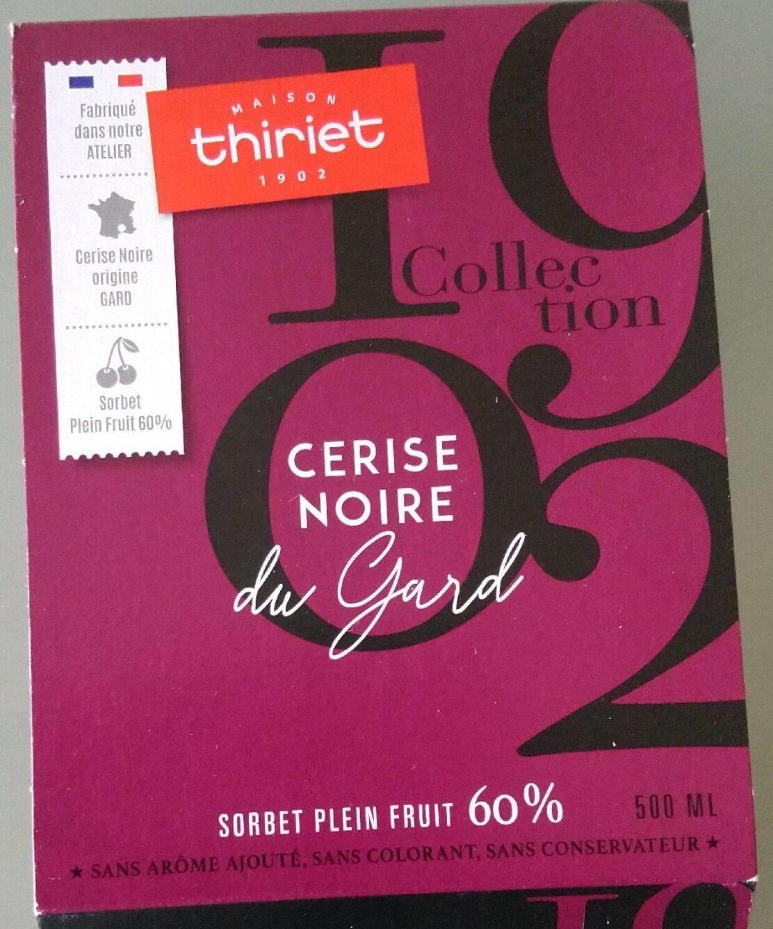 Sorbet plein fruit 60% cerise noire du Gard - Product - fr