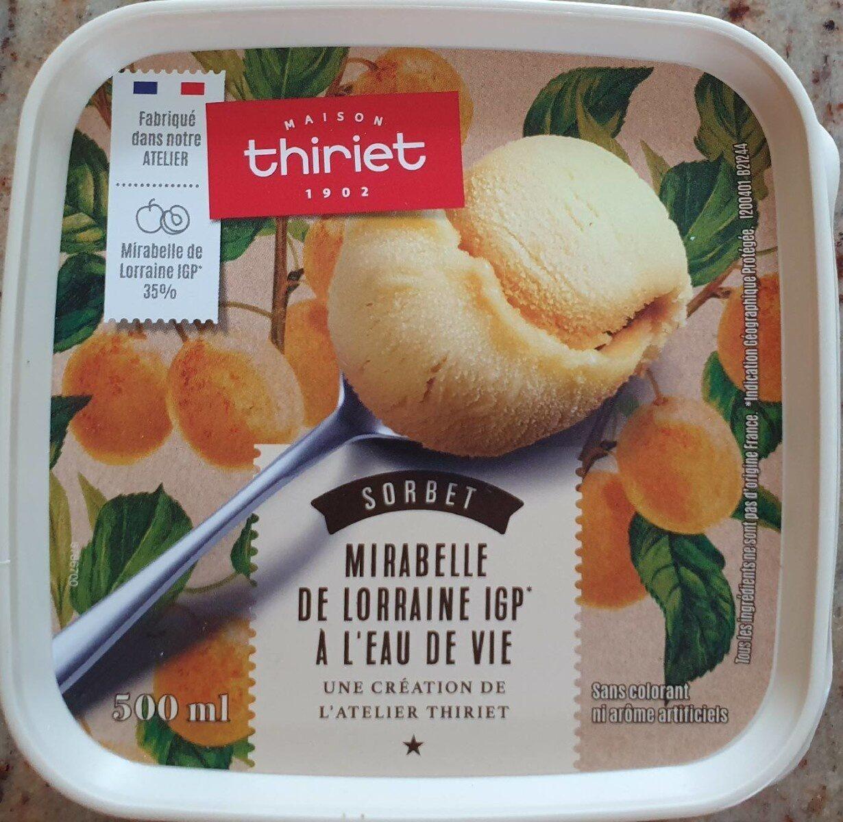 Sorbet Mirabelle de Lorraine - Product - fr