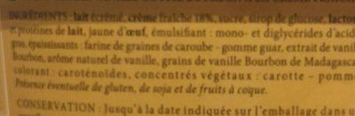 Vanille gousse bourbon - Ingrédients - fr