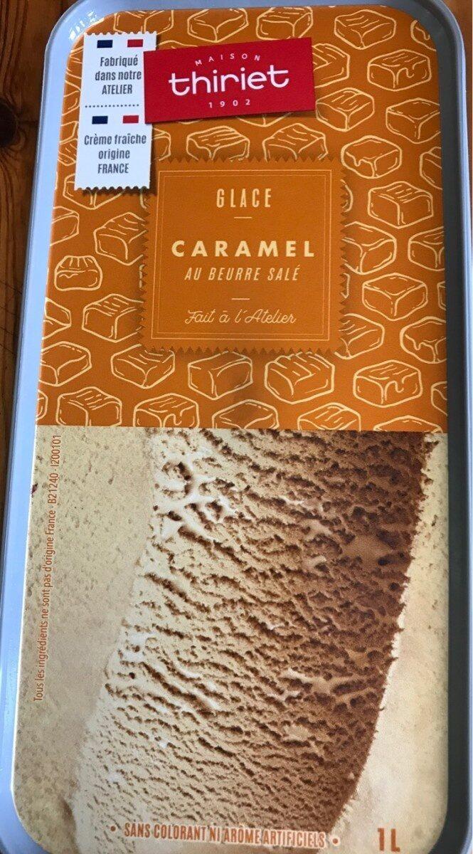 Glace au caramel beurre salé - Produit - fr