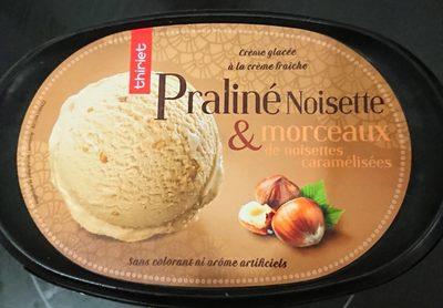 Crème glacée praliné noisettes & morceaux de noisettes caramélisées - Product - fr