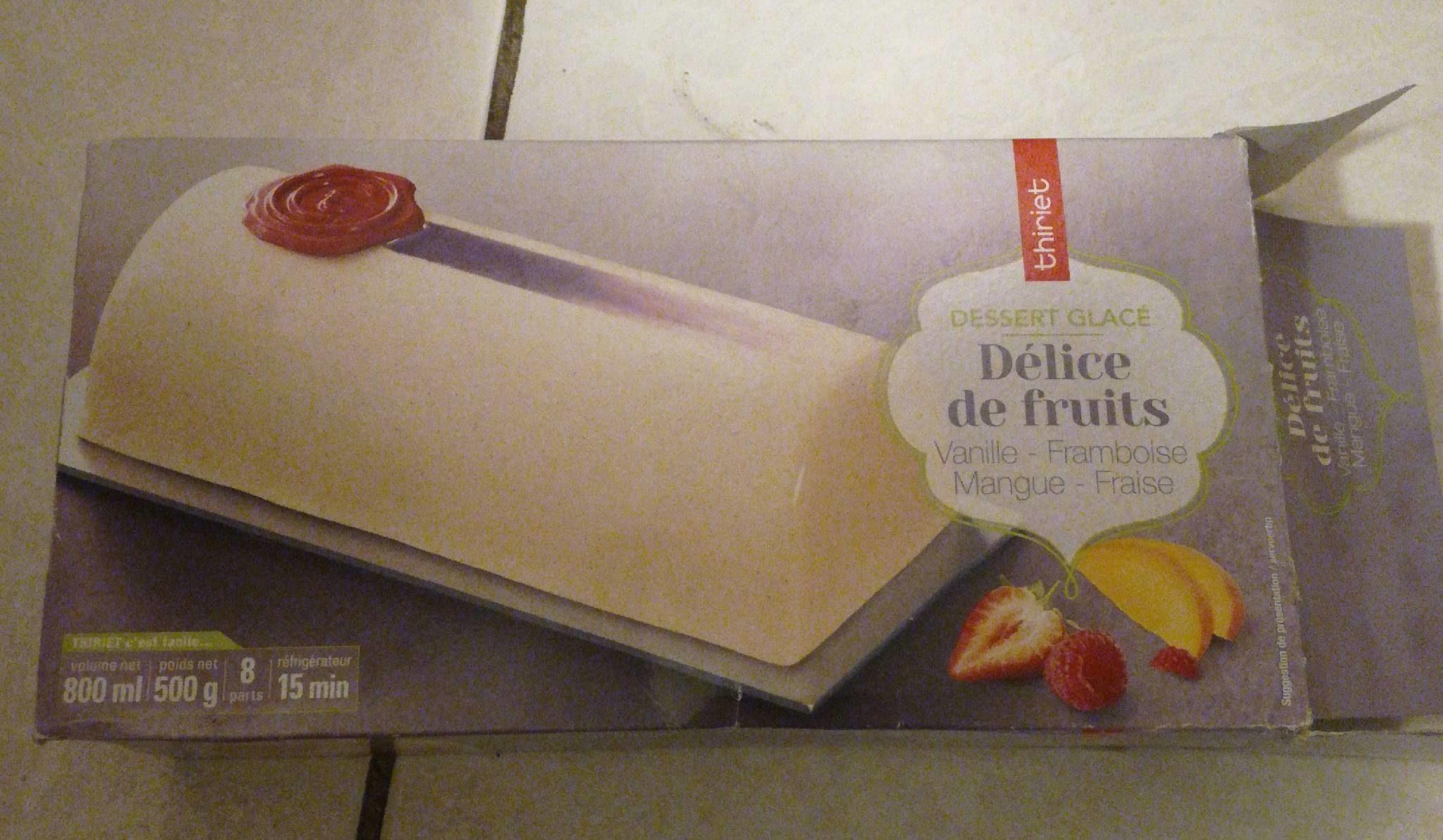 Délice de fruits - Product