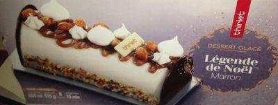 Dessert glacé - legende de Noel Marron - Produit - fr