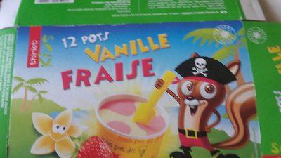 12 Pots Vanille Fraise - Product