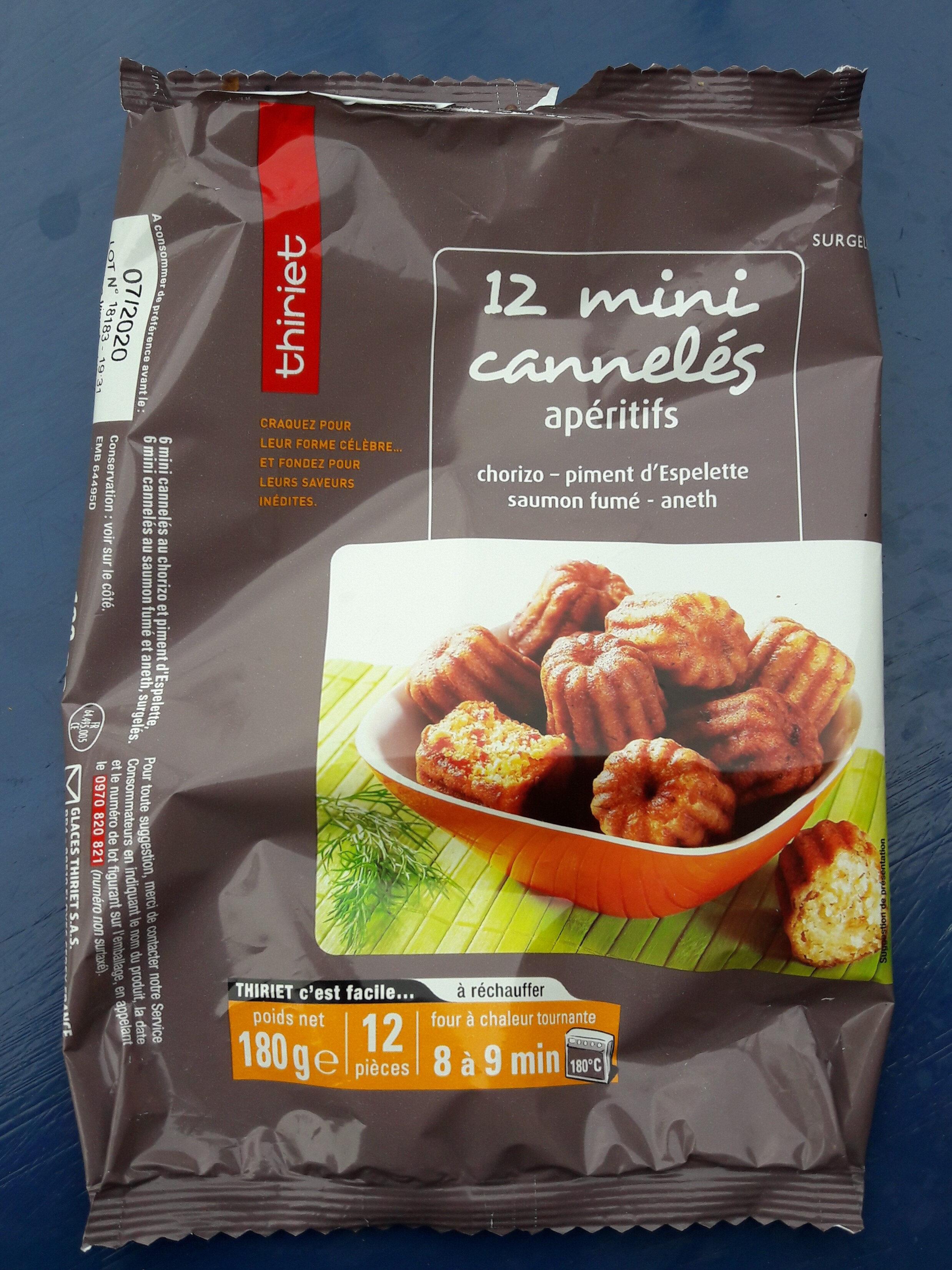 mini canelés apéritifs - Product - fr