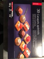 30 canapes aperitifs - Product