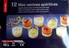 12 Mini verrines apéritives - Produit