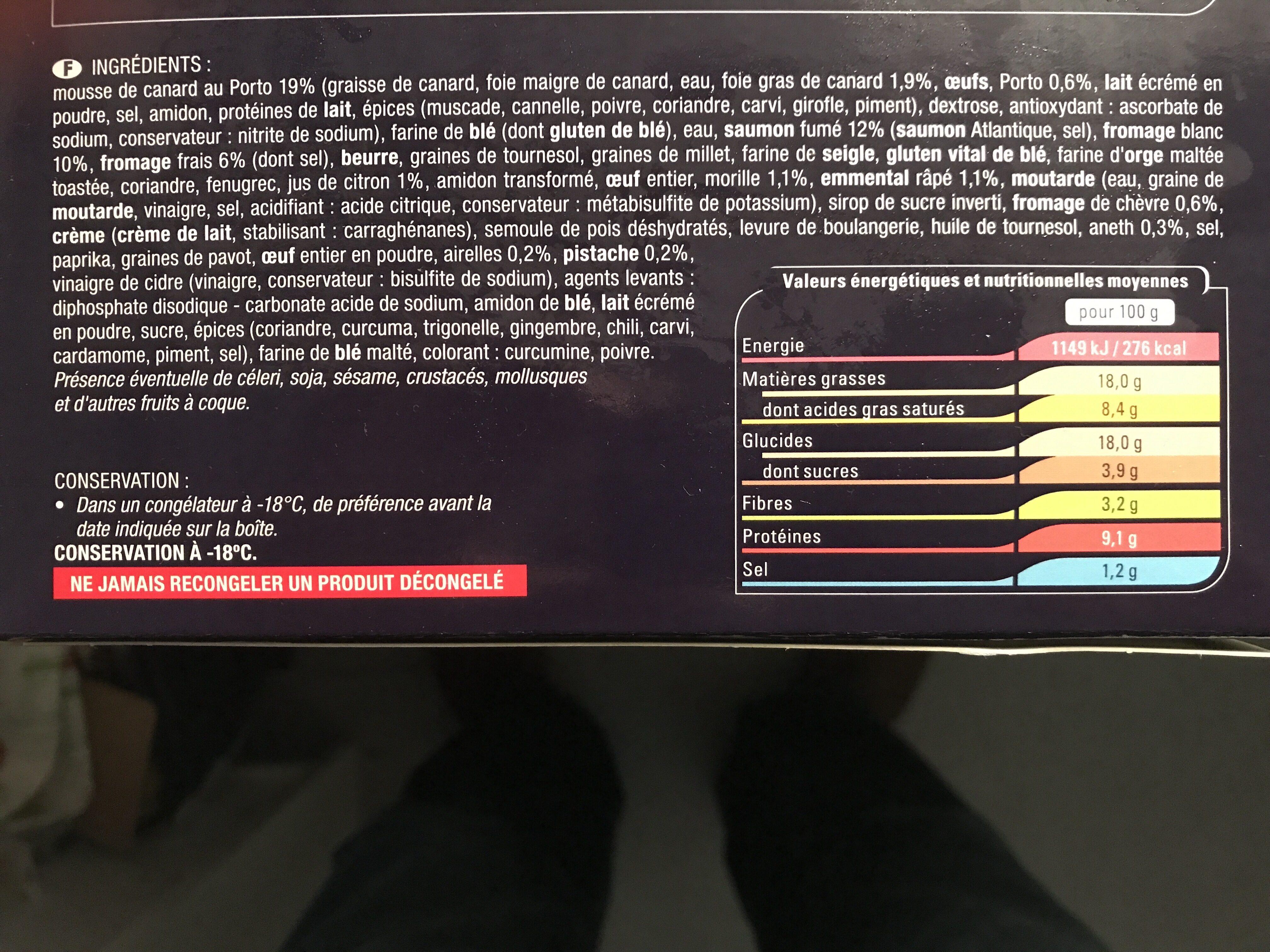 Foret nordique - Ingrediënten - fr