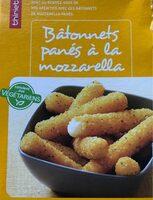 Batonnets panes mozzarella - Valori nutrizionali - fr
