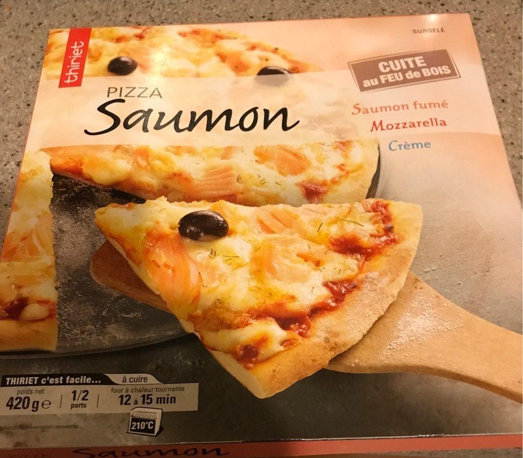 Pizza saumon - Produit - fr
