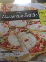 Pizza Mozzarella basilic - Product