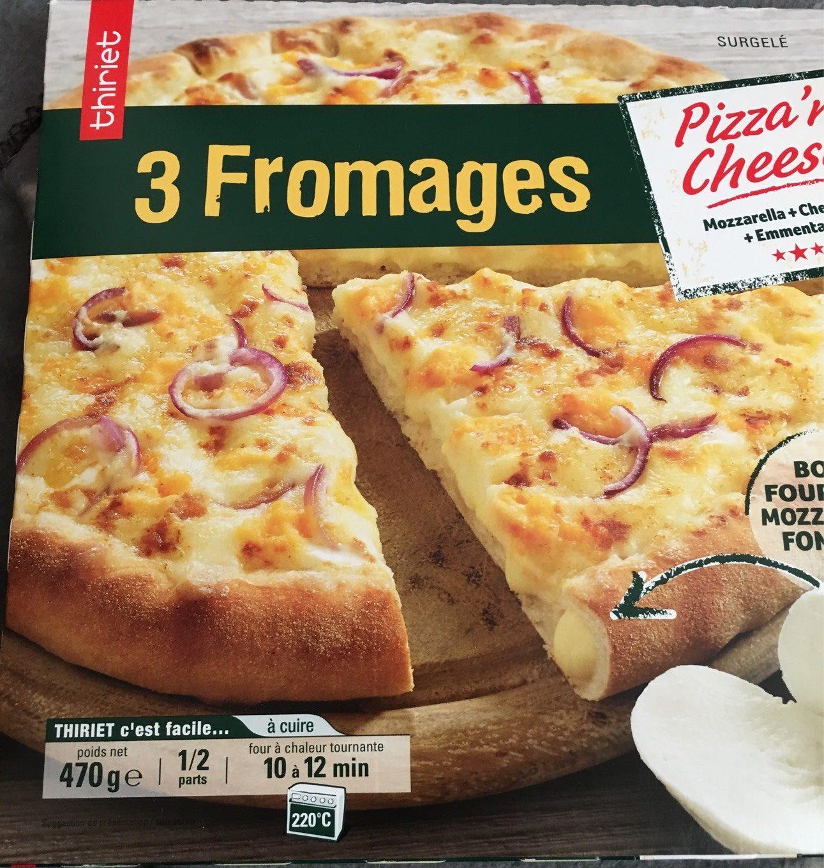 Pizza'n cheese - Produit - fr