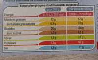 Pizza'n cheese - Informations nutritionnelles - fr