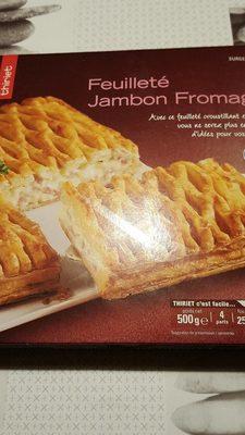 Feuilleté jambon fromage - Produit