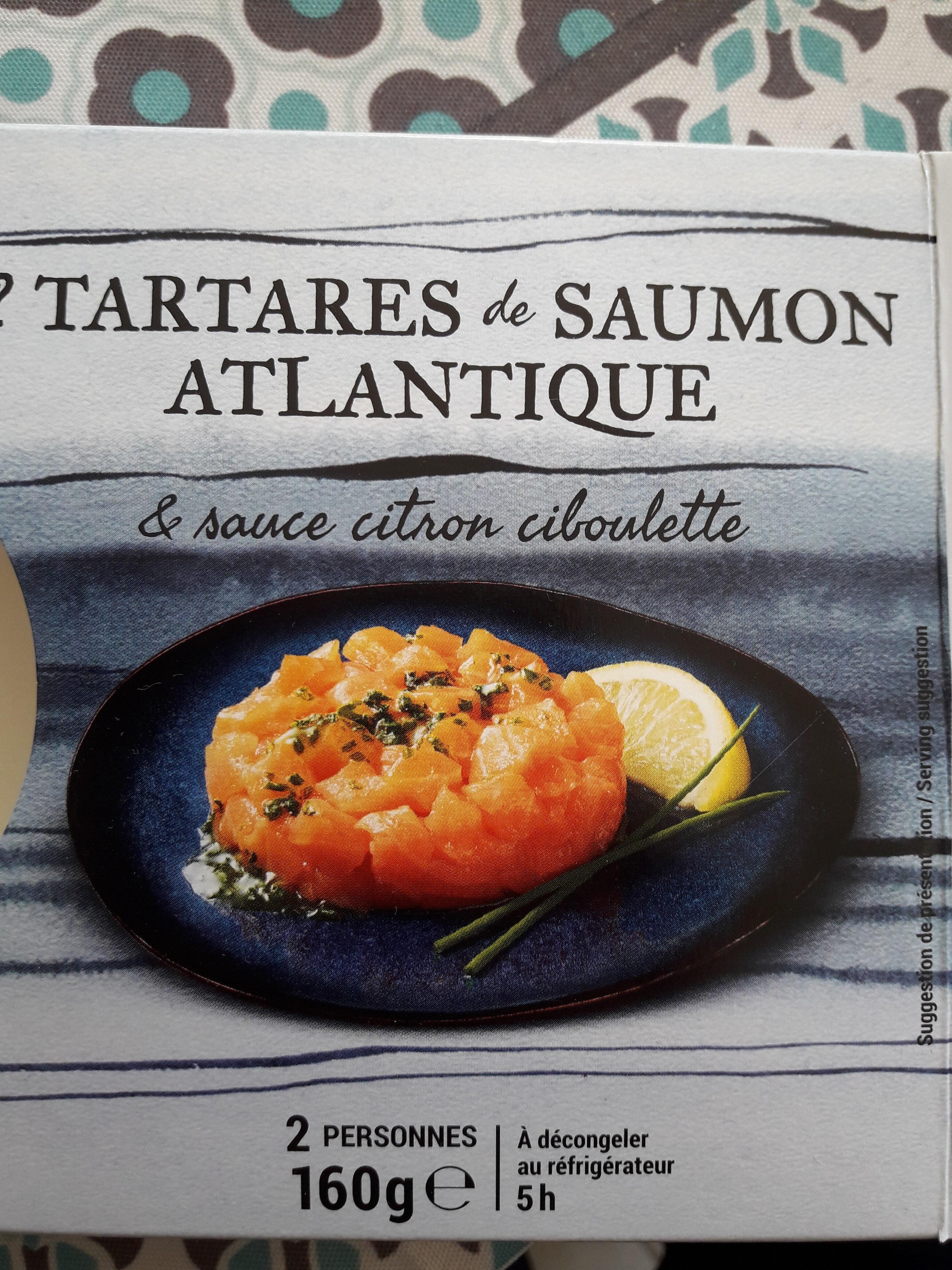 Tartare de saumon thiriet - Product - fr