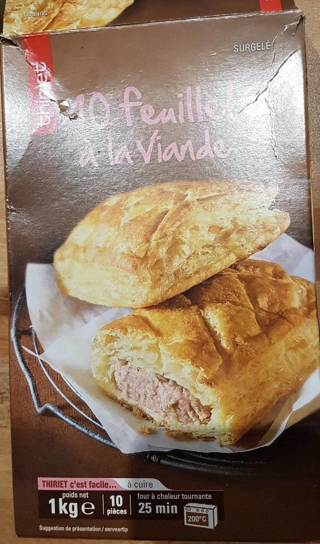 10 feuilletés à la viande - Product - fr