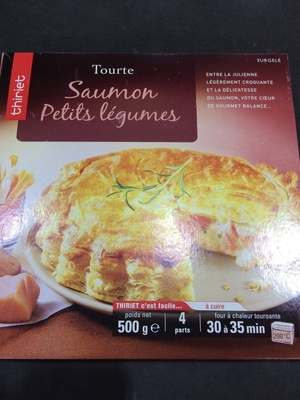 Tourte Saumon Petits Légumes - Produit