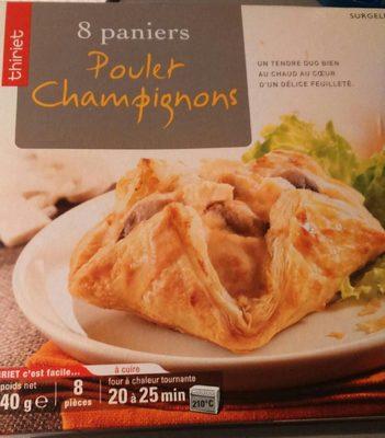 8 Paniers Poulet Champignons - Produit