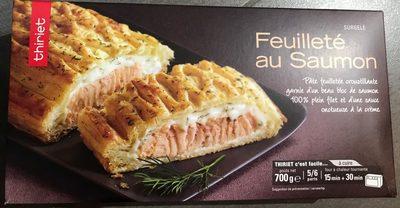 Feuilleté au Saumon - Produit
