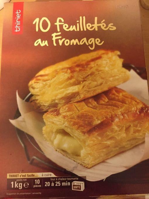 Feuilletes Au Fromage - Produit