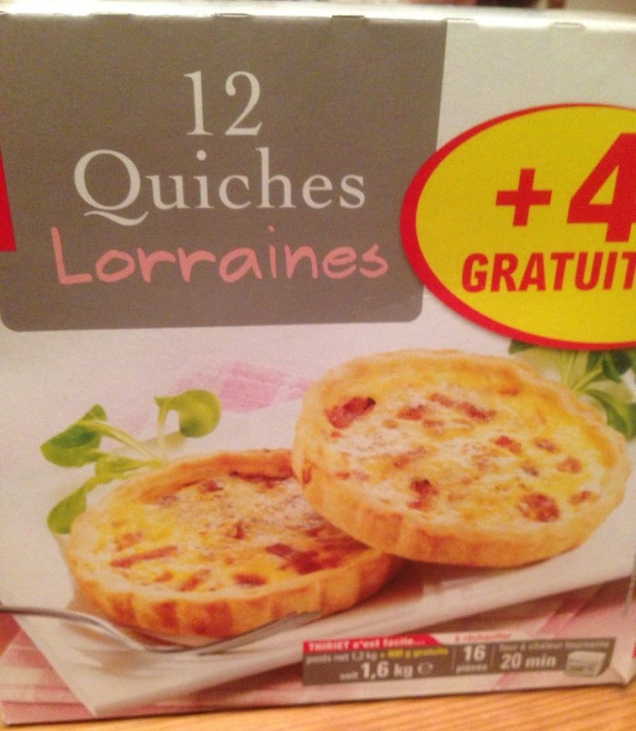 12 Quiches Lorraines - Produit