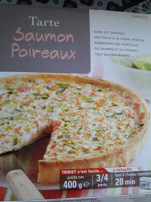 Tarte saumon poireaux - Prodotto - fr