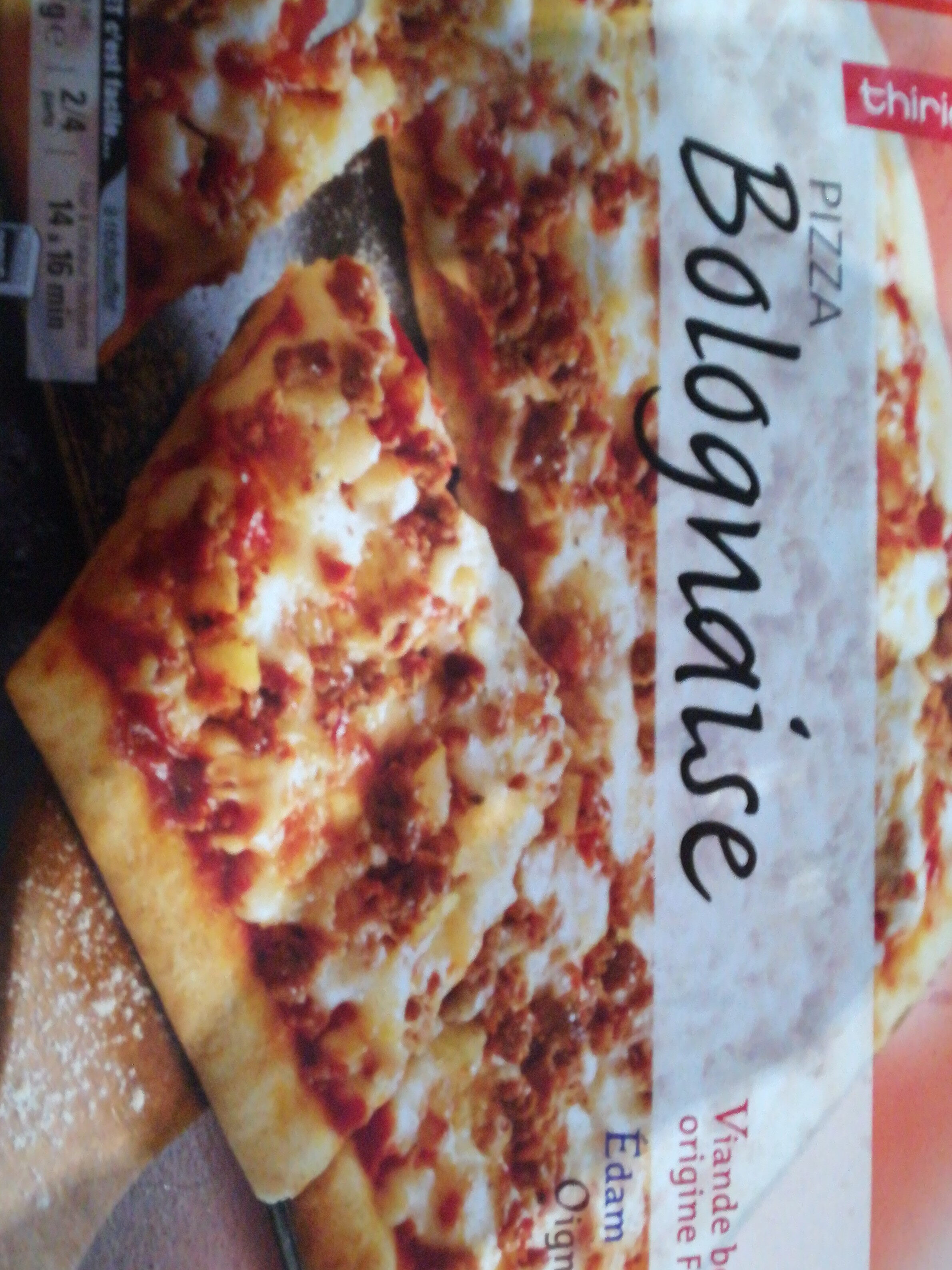 Pizza Bolognaise Cuite Sur Pierre 700g - Product
