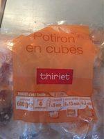 Potiron en cubes - Produit - fr