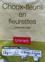 Choux-fleurs fleurettes - Product